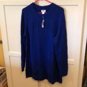 NWT Old Navy Maternity Tunic Sweater / Dress Sz L